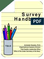 Survey Handbook