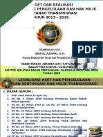 HPL Dan Trans_Kanwil BPN Aceh 2015