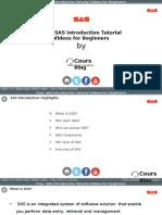SAS Introduction Training