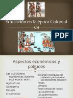 Educacion Colonial