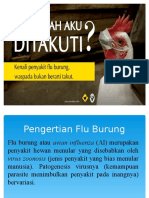 DATA Pengertian Flu Burung