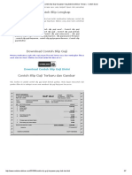 Contoh Slip Gaji Karyawan Yang Baik Dan Benar Terbaru - Contoh Surat