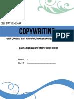 Modul Contekan Copywriting