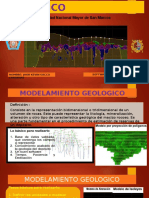 modelamiento geológico con minesigth