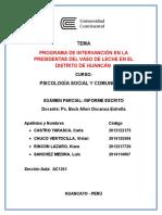 psicologia social comunitaria