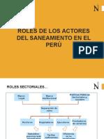 1-Roles y Actores en Saneamiento