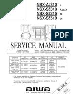 Diagrama Eq Sonido Aiwa Nsx Sz310 Nsx Sz315 Nsx Sz510 Nsx Aj310.