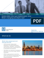 Presentation - IsODIS 9001 and 14001 2014