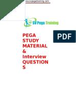 Pega Study Tutorial&Interview Questions