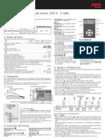 Manual termostato AKO 148011