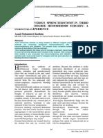 Hemoroidektomi vs Sphincterotomi