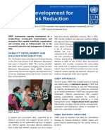 Disaster Risk Reduction - Capacity Development
