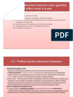 Tema 4 Los Derechos Humanos Como Garantía Del Orden Social y La Paz