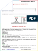 Banking Awareness Q&A 2015 (July to Dec) by AffairsCloud.pdf