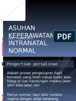 askep intranatal