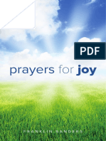 Prayers for Joy - Franklin Sanders