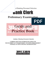 Safalta.com - IBPS Clerk Preliminary Exam Guide (Eng)