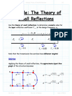 Example Theory of Small Reflections