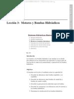 Manual Motores Bombas Hidraulicas Maquinaria Regulables Caudal Fijo Variable Funcionamiento Diferencias Clasificacion