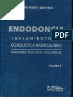 Endodoncia - Tratamiento de Conductos Radiculares Tomo 2 - Leonardo
