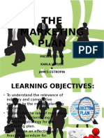The Mktg Plan Ppt