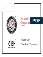 CEHv6 Module 54 Proxy Server Technologies