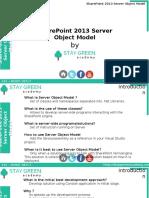 SharePoint 2013 Development - Server Object Model_Introduction Training