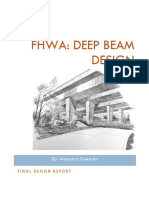 FHWA_ Deep Beam Design