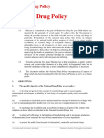 4. National Drug Policy