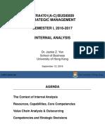 Week 3_Internal Analysis