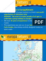 4 Europafietsers
