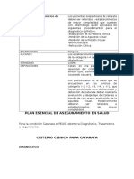 Tarea_PEAS-Criterio Clínico Para Catarata