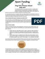 Blog Doc - P.E. Funding Updated 16-17