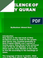 Lec#2 Excelenc of Holy Quran