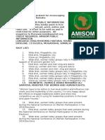 AMISOM praised for encouraging gender parity in Somalia