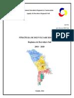 SDR SUD 2016-2020_aprobată de CRD Sud