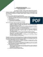 Declaración de AguaytÃ-a