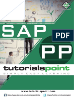 SAP Production Planning Tutorial