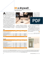 Orçamento Real Painéis Osb x Drywall