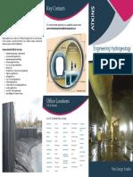 Engineering Hydrogeology Trifold