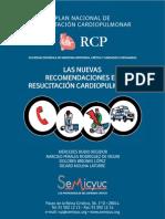 RCP . Nuevas recomendaciones.