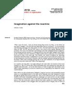 Imagination Against the Machine
