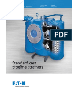 Eaton Standard Cast Pipeline Strainer Brochure US LowRes