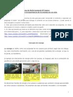 Guía de Reforzamiento 8º Basico Tecnologia 2015
