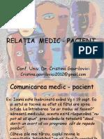 Medic Pacient valori