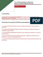 Chapitre 3 Applications & Services