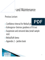 09 Reliability and Maintenance Lecture #9_Mid_Term