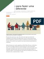5 Ideias Para Fazer Uma Reunião Diferente