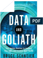 Data and Goliath_ the Hidden Ba - Bruce Schneier
