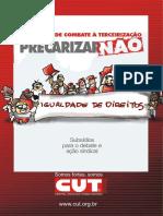 Cartilha - Tercerização